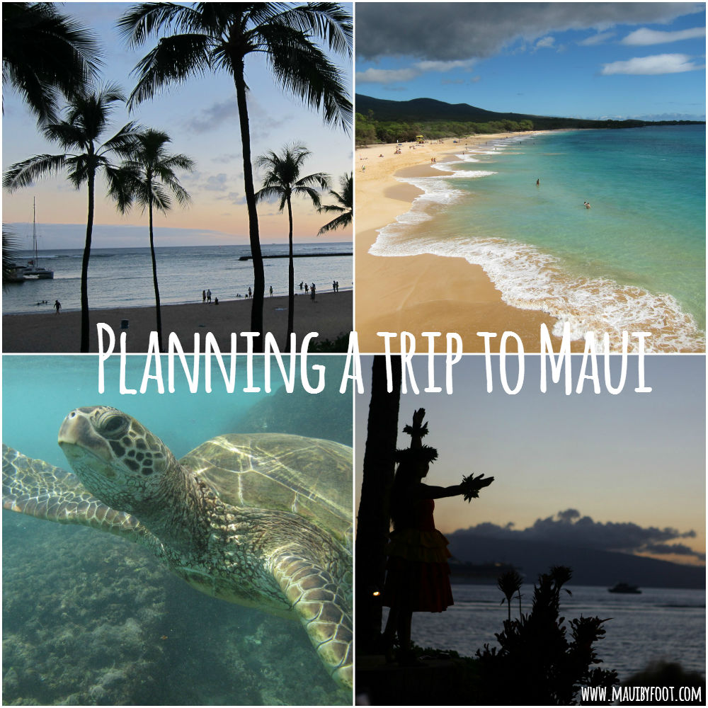 Planning a trip to Maui