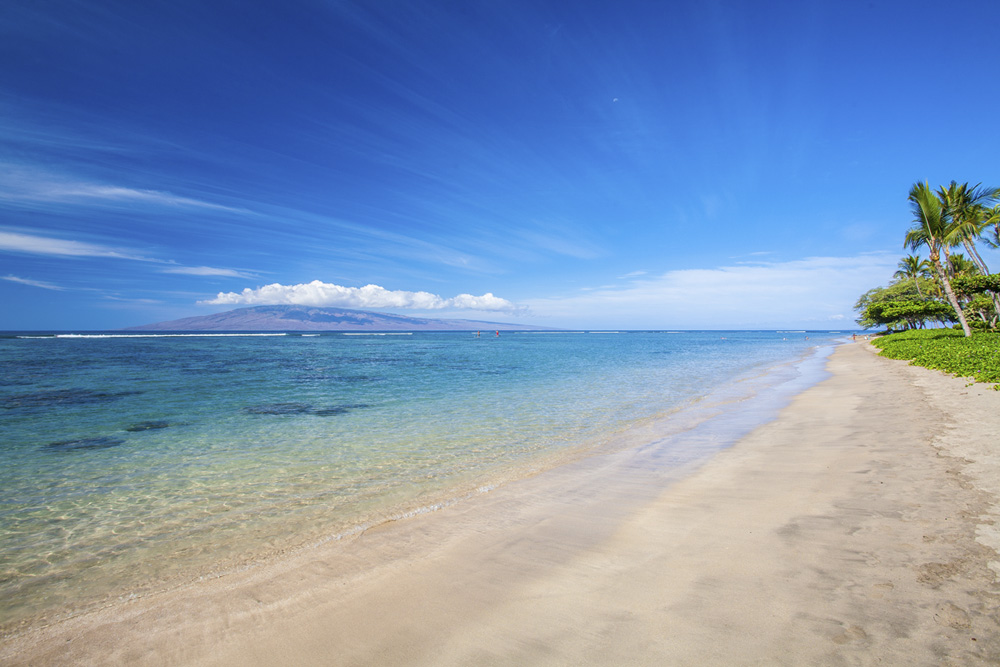baby beach - best maui beach for kids