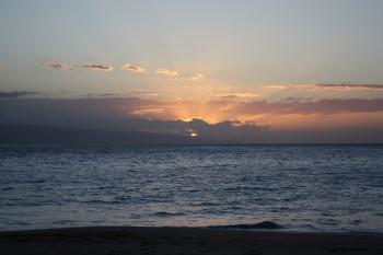 KaanapaliBeach Sunset - 11