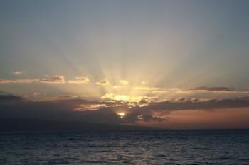 KaanapaliBeach Sunset - 12