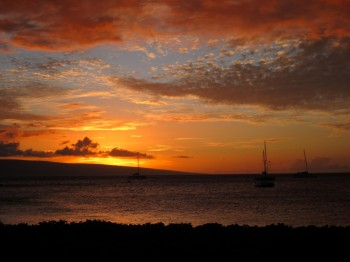 KaanapaliBeach Sunset - 4