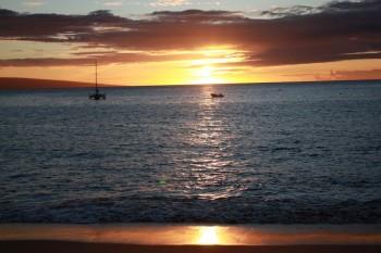 KaanapaliBeach Sunset - 6