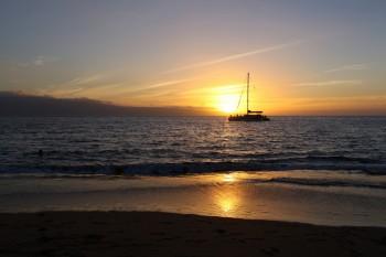 KaanapaliBeach Sunset - 8