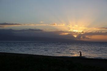 KaanapaliBeach Sunset - 9